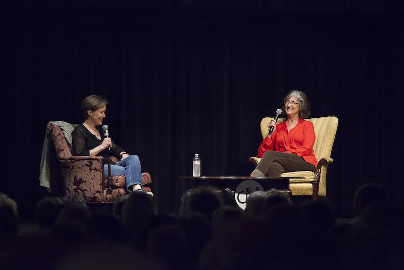 Kingsolver & Patchett - photo by Michele M. Williams